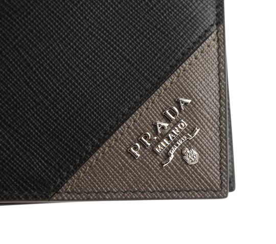 Prada Saffiano Leather Bifold Wallet Image 6