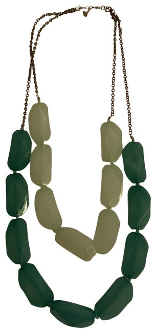 Item - Green Chunky Beaded Necklace