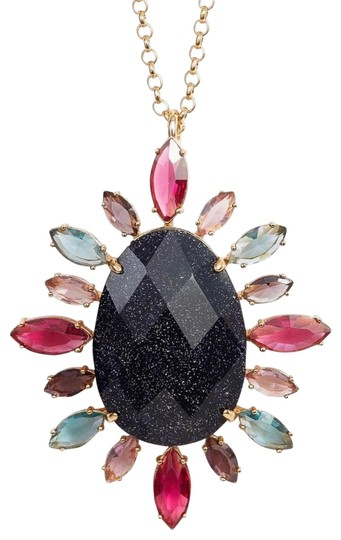 Preload https://img-static.tradesy.com/item/25863804/kate-spade-goldpurple-night-sky-pendant-multi-necklace-0-1-540-540.jpg