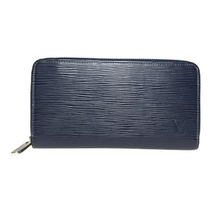 Louis Vuitton Louis Vuitton Epi M60307 Zippy Wallet Long Wallet (bi-fold) Indigo Blue