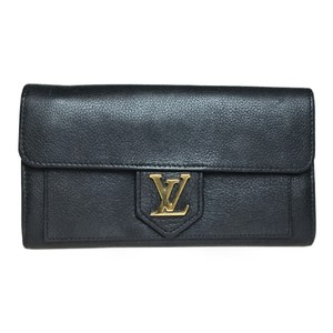 Louis Vuitton Auth Louis Vuitton Parnassea M60861 Portofoyu Rock Me Long Wallet (bi-fold)