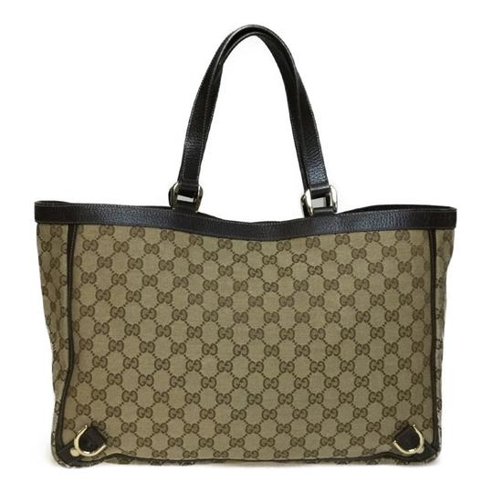 Gucci Tote in Beige / Brown Image 6