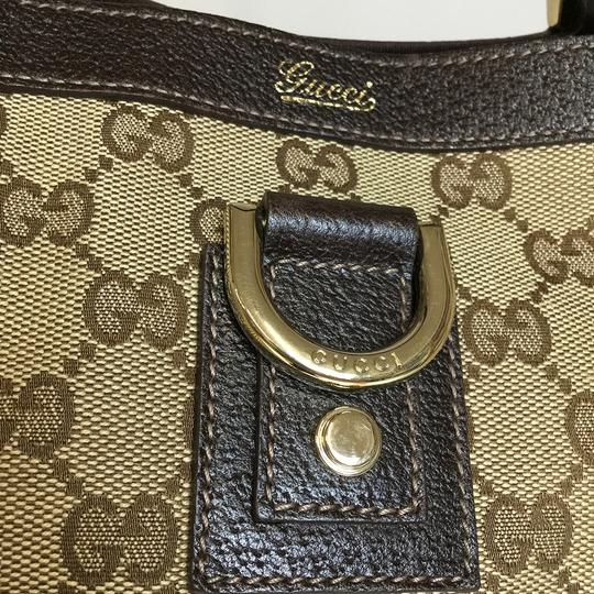 Gucci Tote in Beige / Brown Image 7