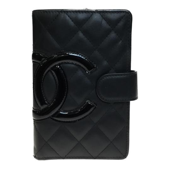 Preload https://img-static.tradesy.com/item/25864375/chanel-black-pink-cambon-a50080-leather-middle-bi-fold-wallet-0-0-540-540.jpg