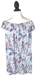 Rip Curl short dress Off Shoulder Floral on Tradesy