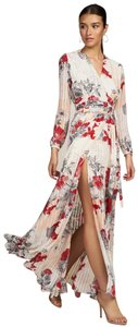 Red Multi Maxi Dress by Anthropologie