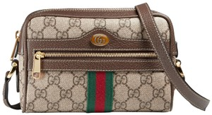 Gucci Ophidia Camera Gg Supreme Canvas Vintage Cross Body Bag