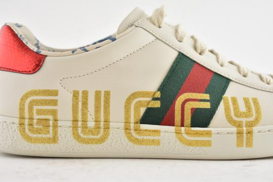 Gucci Loafer Mule Slide Flat Marmont white Athletic Image 2