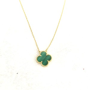 Van Cleef & Arpels Yellow Gold Vintage Alhambra Pendant Necklace