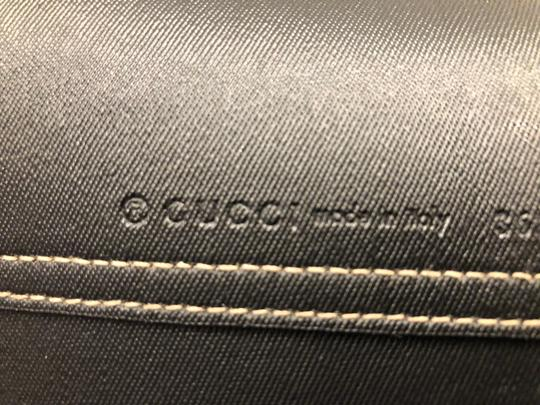Gucci Reversible Tote in Black/Beige Ebony GG Leather Image 4
