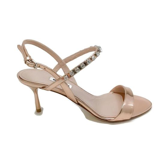 Miu Miu Rose Gold Sandals Image 2