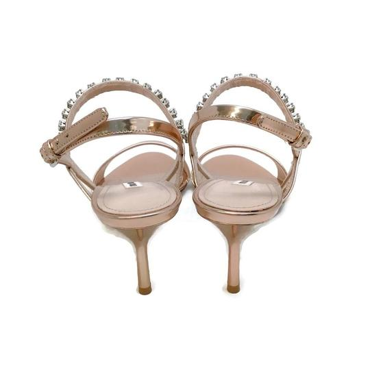 Miu Miu Rose Gold Sandals Image 7