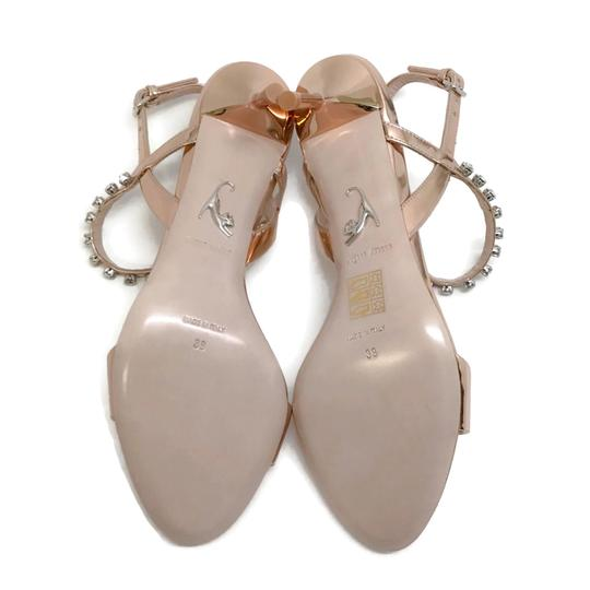 Miu Miu Rose Gold Sandals Image 9