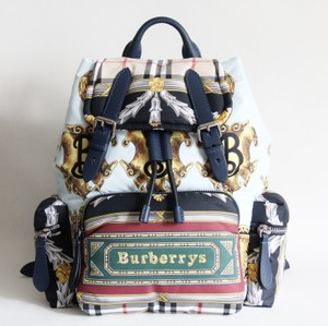 Burberry Scarf Print Backpack