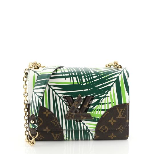 Preload https://img-static.tradesy.com/item/25866111/louis-vuitton-twist-handbag-limited-edition-palm-print-leather-with-green-monogram-canvas-shoulder-b-0-0-540-540.jpg