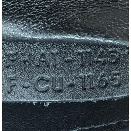 Céline Luggage Smooth Leather Satchel in black Image 7