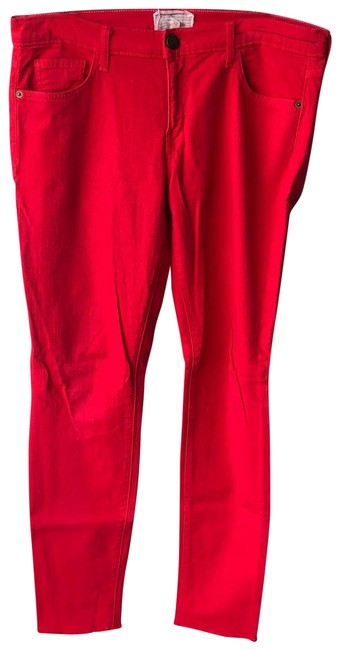 Item - Red Skinny Jeans Size 10 (M, 31)