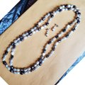 Other Boutique Pearl Set Necklace and Earrings