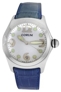 Corum Men's Corum Bubble 163.150.20 0F02 Stainless Steel Date Quartz 45MM