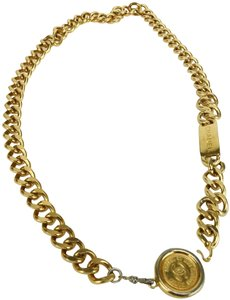 Chanel CHANEL Chain CC 31 Rue Cambon Medallion Belt Gold