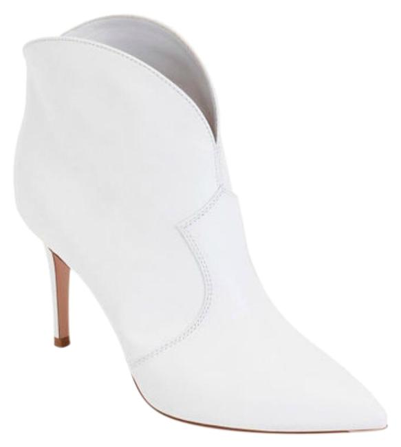 Item - White Mable Boots/Booties Size EU 36 (Approx. US 6) Regular (M, B)
