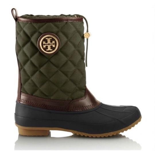 Tory Burch hunter green Boots Image 1
