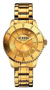 Versus Versace Versus By Versace Women's Tokyo Gold Ion-Plated Stainless Steel Watch,