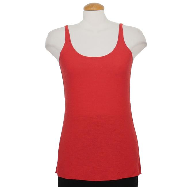 Item - Cardinal Red Washable Wool Links Scoop Neck 3x Tank Top/Cami Size 26 (Plus 3x)