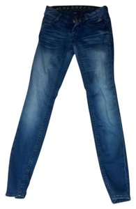 Express Jeggings Tight Cotton Spandex Skinny Jeans-Medium Wash