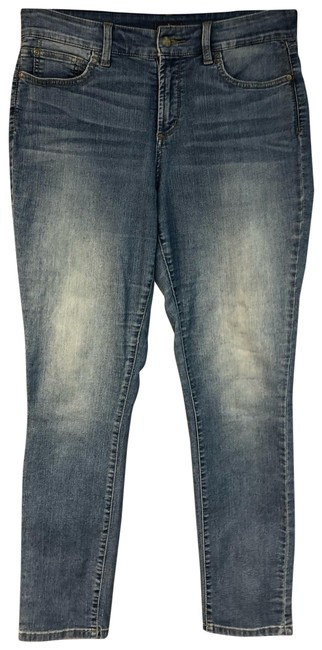 Item - Blue Light Wash Not Your Daughter's Stretch Cotton Legging 10 Straight Leg Jeans Size 33 (10, M)
