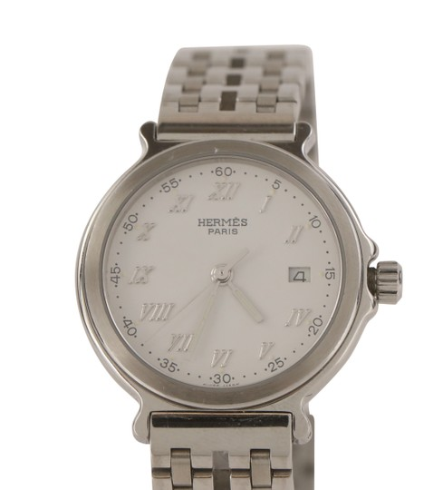 Hermès 26mm Classic Stainless Steel Image 9