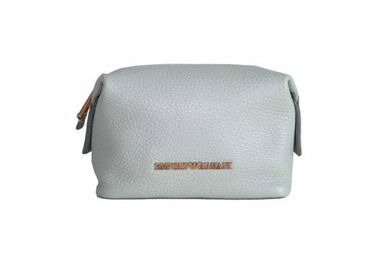 Preload https://img-static.tradesy.com/item/25869095/emporio-armani-mint-leather-pouch-cosmetic-bag-0-0-540-540.jpg