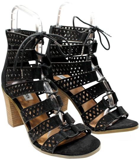 Preload https://img-static.tradesy.com/item/25869162/steve-madden-black-suede-lace-up-stacked-perforated-gladiator-sandals-size-us-75-regular-m-b-0-1-540-540.jpg