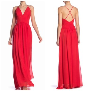 red Maxi Dress by Meghan LA
