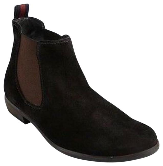 Item - Black Pull On Ankle Boots/Booties Size US 7 Narrow (Aa, N)