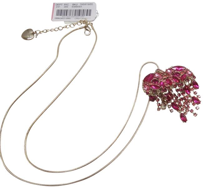 Item - Hot Pink New Heart Necklace
