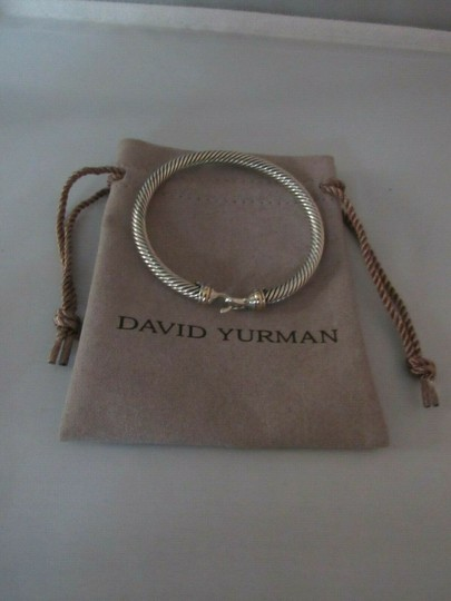 David Yurman Cable Classic Buckle Bracelet with 18K Gold, 5mm Image 2