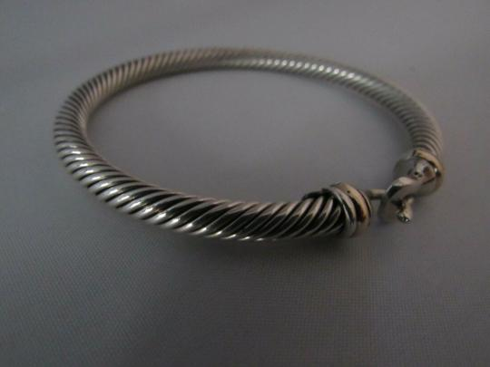David Yurman Cable Classic Buckle Bracelet with 18K Gold, 5mm Image 3