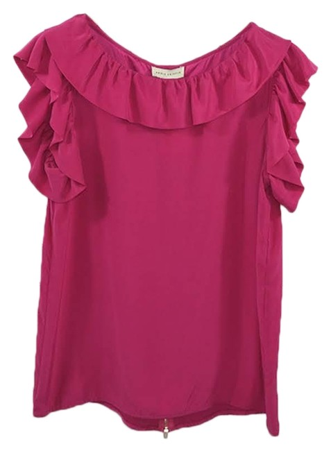 Item - Pink Annie Ruffle #135-56 Blouse Size 4 (S)