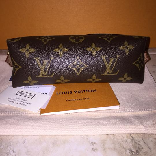 Louis Vuitton Cosmetic Pouch PM Stickers Patchwork Pivoine World Tour Patches NEW M43998 Image 4