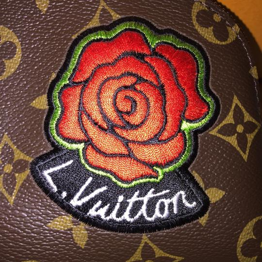 Louis Vuitton Cosmetic Pouch PM Stickers Patchwork Pivoine World Tour Patches NEW M43998 Image 5
