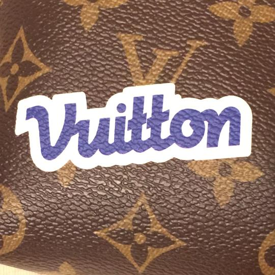 Louis Vuitton Cosmetic Pouch PM Stickers Patchwork Pivoine World Tour Patches NEW M43998 Image 6