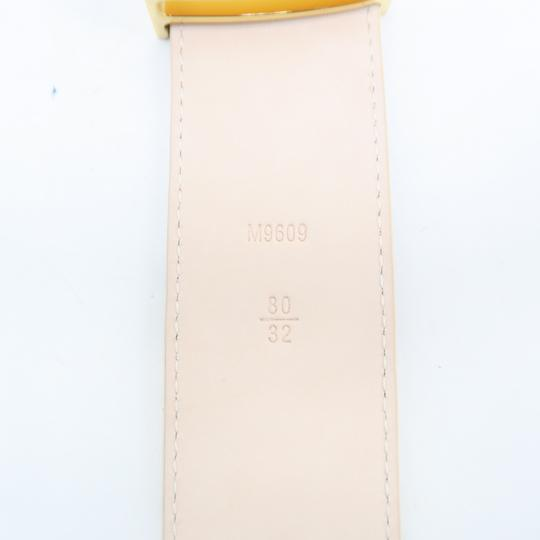 Louis Vuitton White Damier Azur Canvas 80/32 Belt Image 9