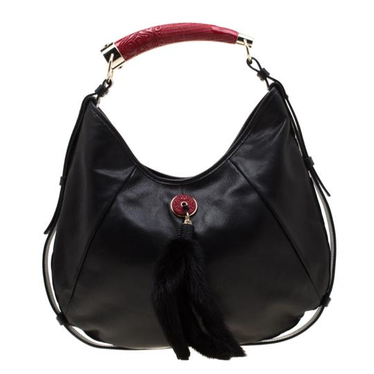 Saint Laurent Leather Hobo Bag Image 0