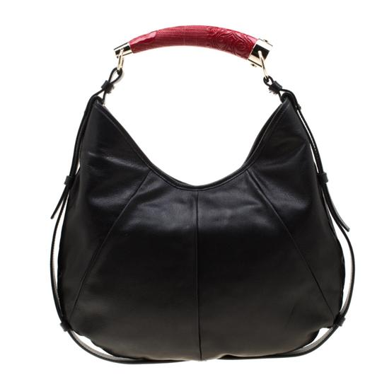 Saint Laurent Leather Hobo Bag Image 1