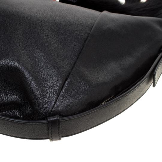 Saint Laurent Leather Hobo Bag Image 5