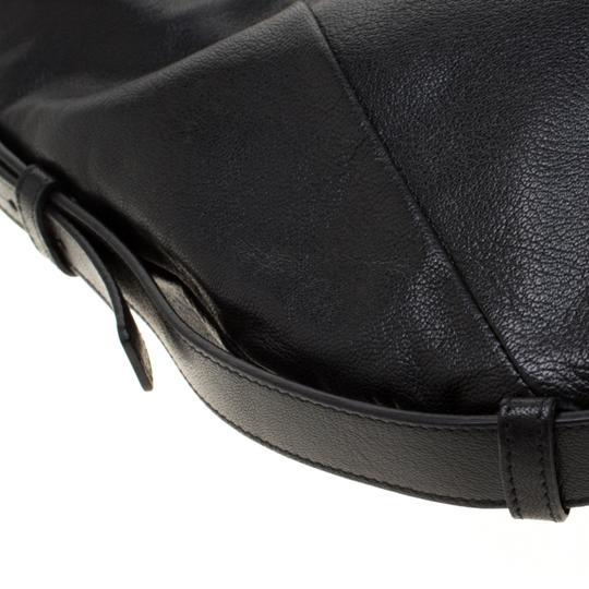 Saint Laurent Leather Hobo Bag Image 9