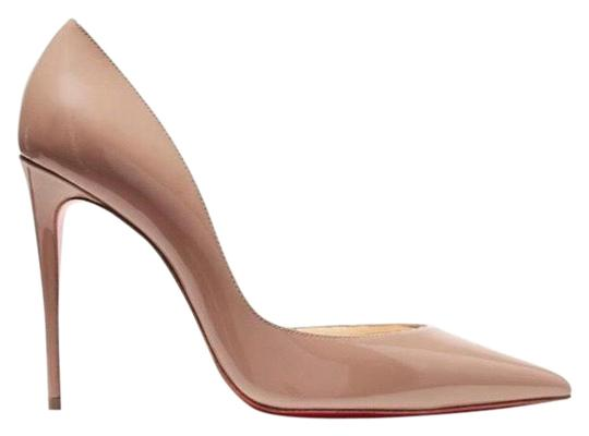 Preload https://img-static.tradesy.com/item/25871299/christian-louboutin-nude-iriza-100-patent-leather-heels-pumps-size-eu-395-approx-us-95-regular-m-b-0-1-540-540.jpg