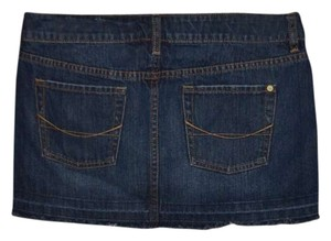 Bullhead Nwot Mini Size 9 Mini Skirt Denim Dark