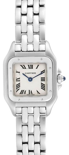 Preload https://img-static.tradesy.com/item/25871438/cartier-silver-panthere-small-stainless-steel-ladies-w25033p5-watch-0-1-540-540.jpg